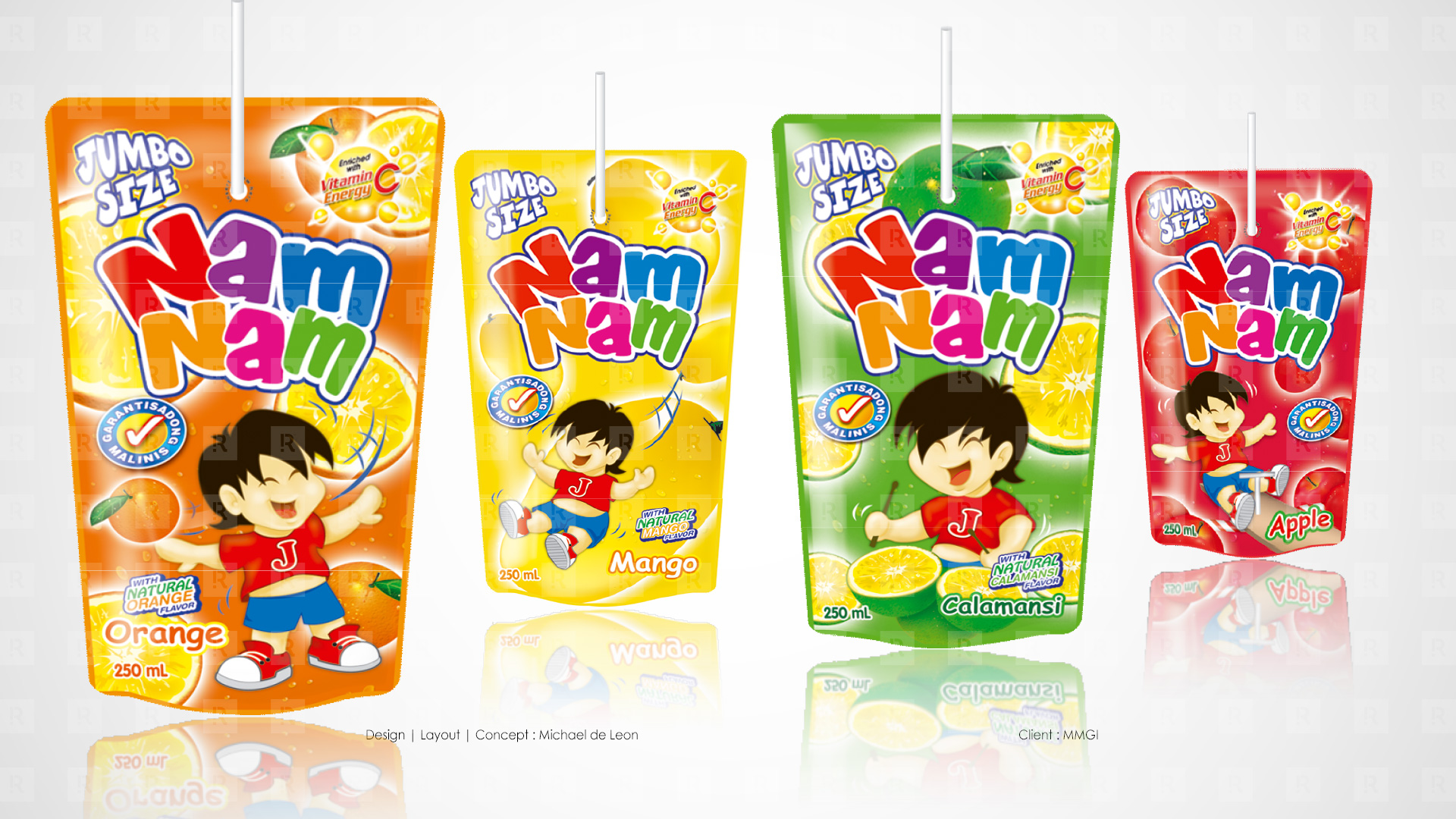 Nam Nam Fruit Drink Flavors