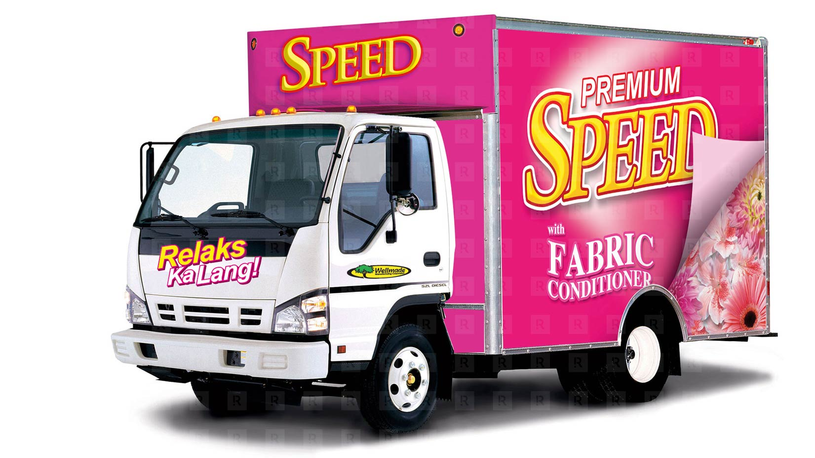 Speed FabCon Truck Design