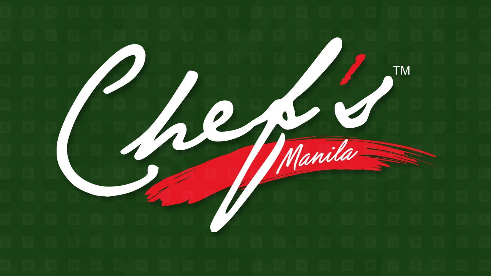 The Chef Manila Branding