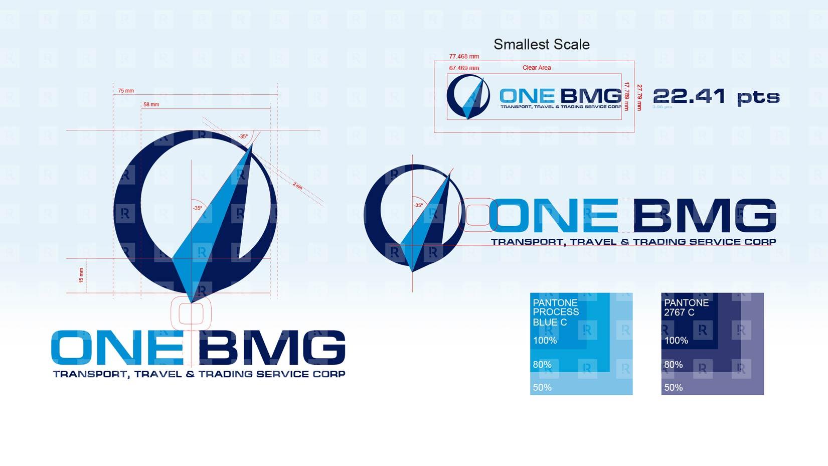 One BMG Corporate Identity