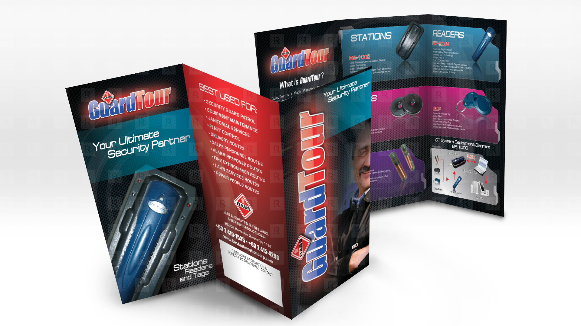 GuardTour Brand & Brochure Design