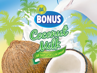 SM Bonus Coconut Milk