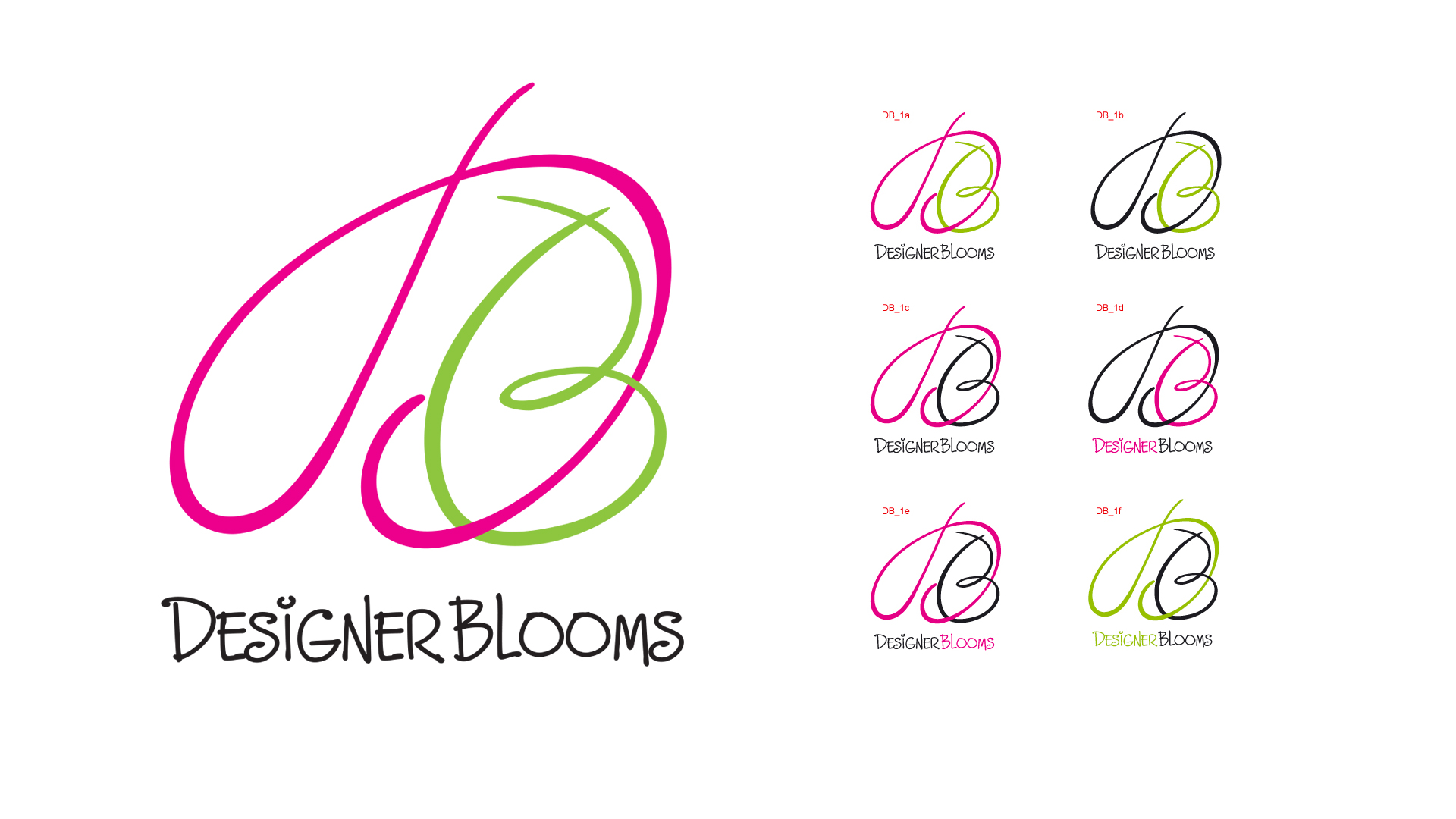Designer Blooms Logo