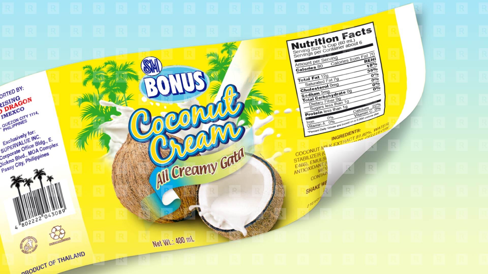 SM Bonus Coconut Cream