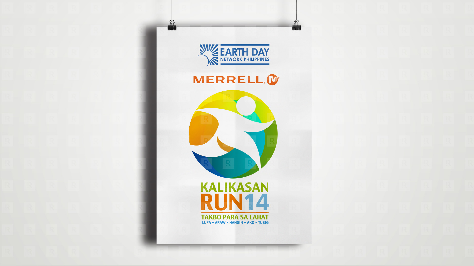 Earth Day Fun Run Logo